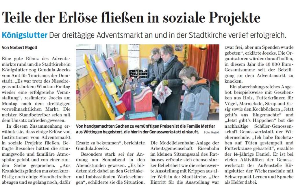 Braunschweiger Zeitung - 15.12.15