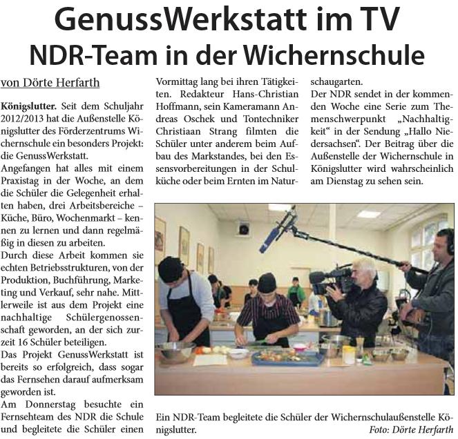 Helmstedter Sonntag 15.09.2013