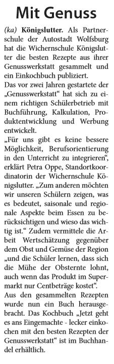 Helmstedter Sonntag 20.07.2014